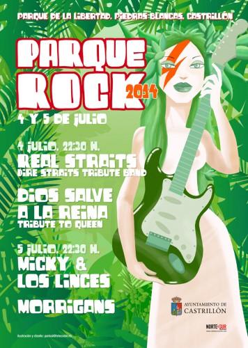 cartel del Parque Rock 2