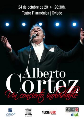 Alberto Cortez en Oviedo