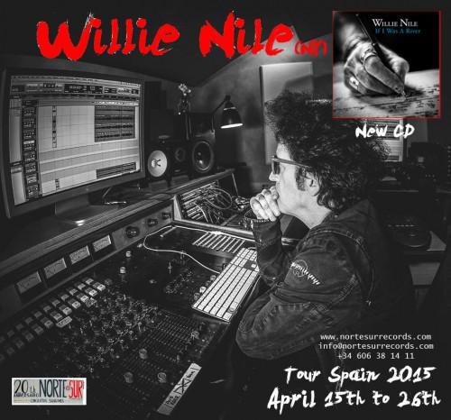 Willie Nile tour 2015