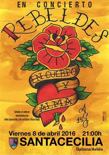cartel los rebeldes avilés web