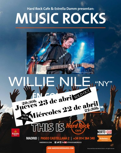 cartel willie madrid 2 dia WEB