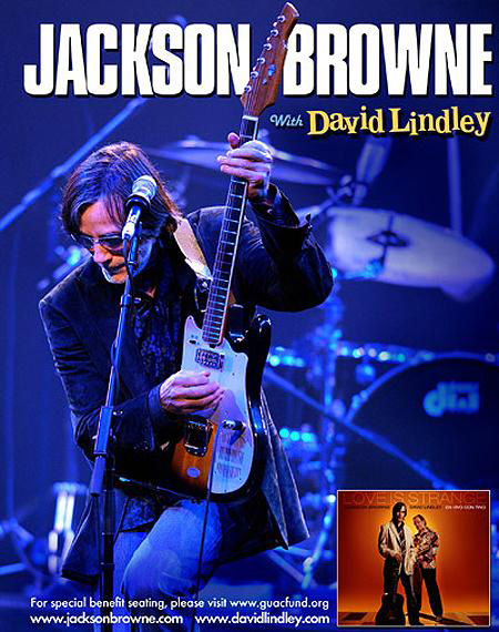 Jackson Browne y David Lindley Tour Europe 2010