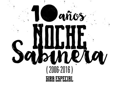 logo NOCHE SABINERA 2006-2016-1