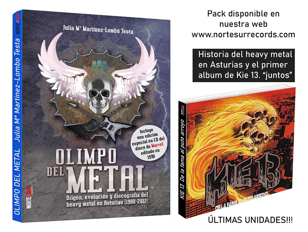 Olimpo del metal y Kie 13